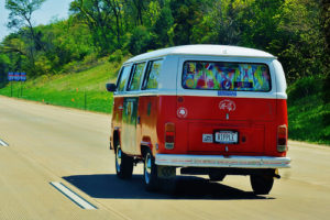 Hippie van, preferred Deadhead transportation